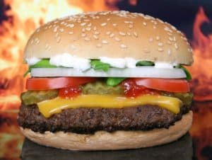 המבורגר ראשית