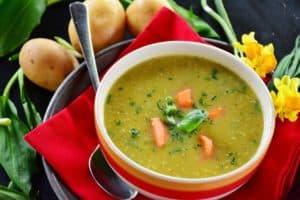 מרק ירקות ראשית